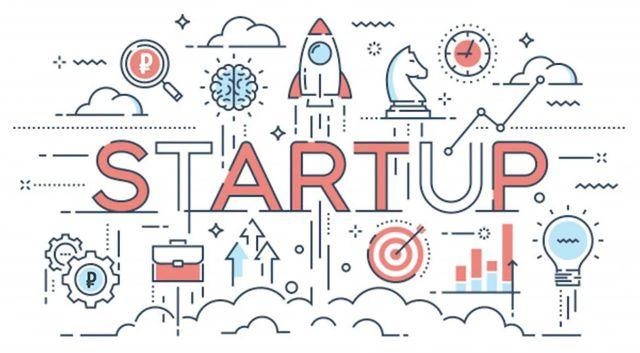 Иллюстрация символики запуска нового проекта бизнеса