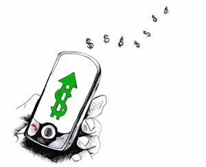 Управление деньгами с мобильного телефона