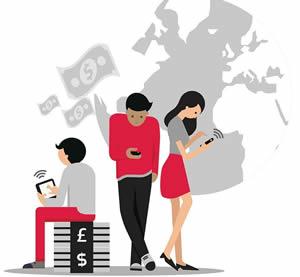 Представители молодого поколения активно используют онлайн сервисы банков
