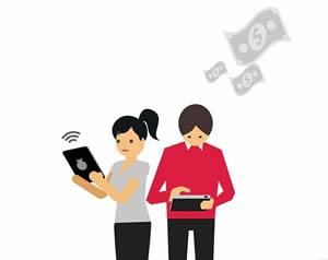 Молодые клиенты, использующие онлайн сервисы Сбербанка