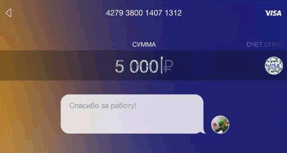 sberbank деньги по номеру телефона