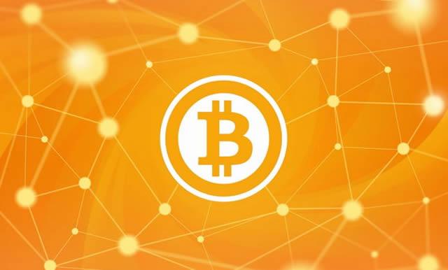 Символ системы электронных платежей Bitcoin