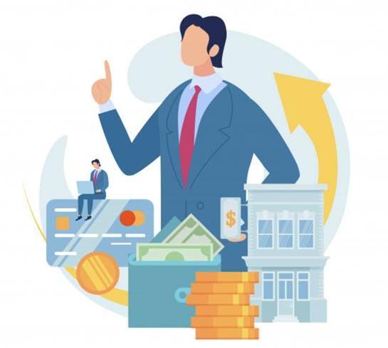Иллюстрация на тему выбора типа банковского кредита